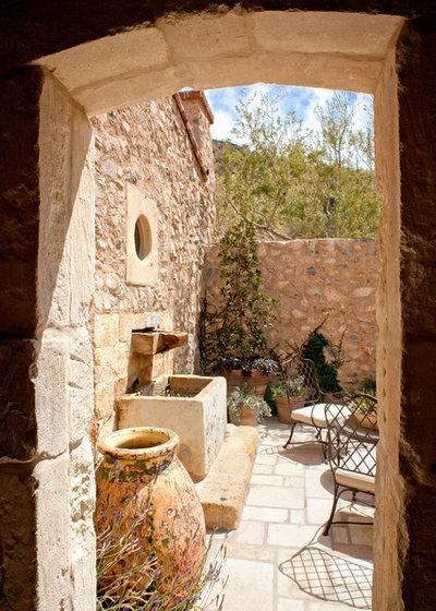 Mediterranean Patio by Don Ziebell