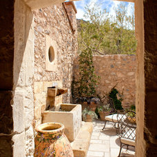 Mediterranean Patio by Don Ziebell