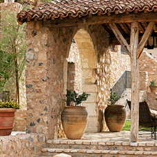 Rustic Patio by Don Ziebell