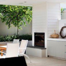 Contemporary Patio by Liz Prater Design Home