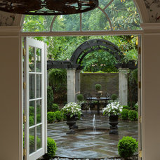 Traditional Patio by Overmyer Architects