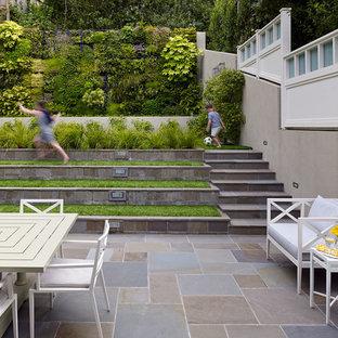 Example of a trendy patio vertical garden design in San Francisco