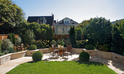 Pacific Heights Home Patio