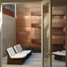 Contemporary Patio by Randy Thueme Design Inc. - Landscape Architecture