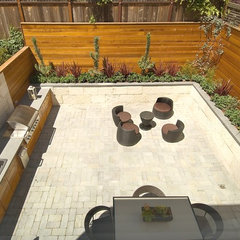 contemporary patio by EAG Studio