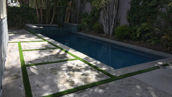 Pacific Palisaids Spa Adition, Backyard Transformation, Fire Pit and more