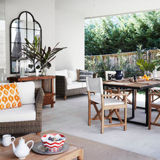Contemporary Patio by Harrison's Landscaping