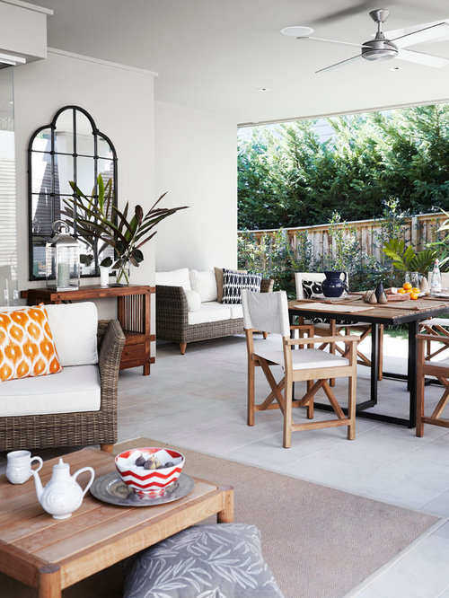 Modern Outdoor Living Space | Houzz on Houzz Outdoor Living Spaces id=22468