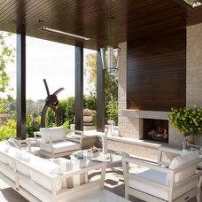 Contemporary Patio by Audrey Alberts Design