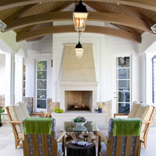 Transitional Patio by Jackson Paige Interiors, Inc.