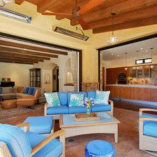Mediterranean Patio by Toro-Lombardo Design Build