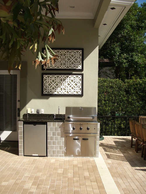 Small Outdoor Kitchen | Houzz