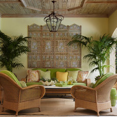 Tropical Patio by Brantley Photography