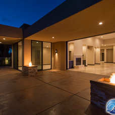 Contemporary Patio by Beneficial Construction Group