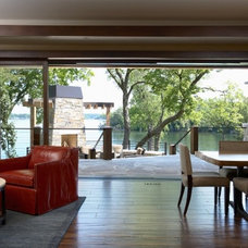 Contemporary Patio by Martha O'Hara Interiors