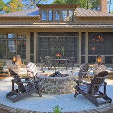 Traditional Patio by Ellis Construction Co., Inc.