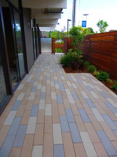 Precast Concrete Pavers Make A Versatile Surface For The