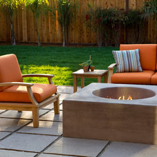 Contemporary Patio by James Witt Homes