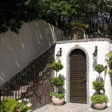 Mediterranean Staircase by Marengo Morton Architects