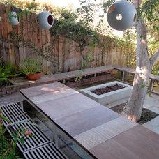 Contemporary Patio by SB Garden Design