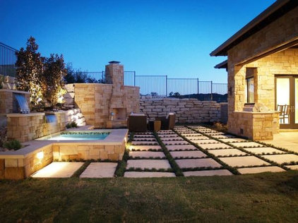 Modern Patio by Stonewood Homes, Ltd.