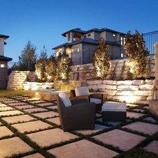 Modern Patio by Stonewood Homes, Ltd.