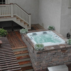 Traditional Patio by All Seasons Spas