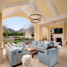 Traditional Patio by PHX Architecture