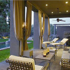 Traditional Patio by Bates Interiors