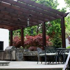 Traditional Patio by Grasso Development Corp