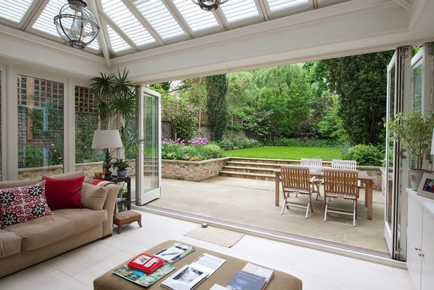 Modern Patio by Mitchell Berry Architects