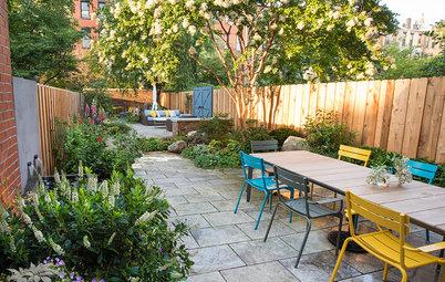 Avant/Après : Une cour en longueur transformée en oasis urbaine
