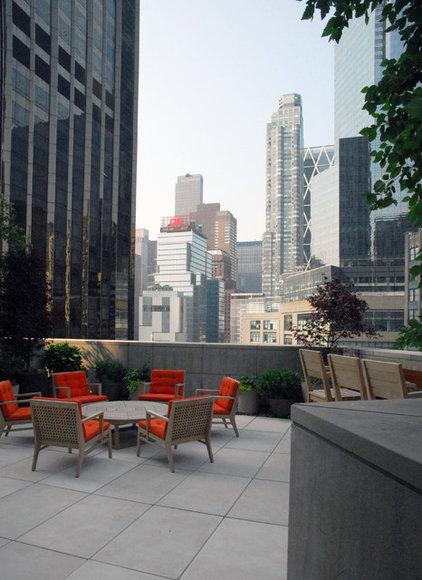 Contemporary Patio by Greenblott Landscape & Interiors