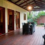 Small Courtyard Garden Asian Patio Melbourne By