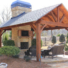 Traditional Patio by O'Dea Properties Inc.