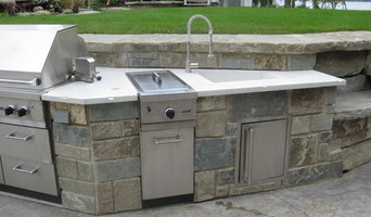 Parnell outdoor kitchen