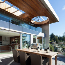 Contemporary Patio by derek lepper photography