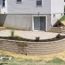 Traditional Patio by Comfort Zones Landscaping LLC