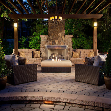 Traditional Patio by Overstream, Inc.