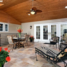 Traditional Patio by Lensis Builders, Inc.
