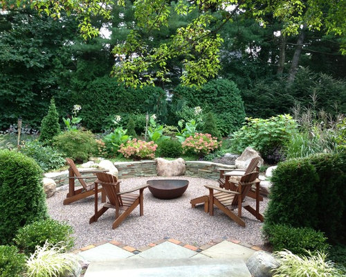 Pea Gravel Fire Pit Houzz
