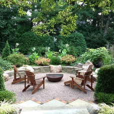Traditional Patio by Susan Els Garden & Landscape Design