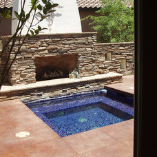 Contemporary Patio by Glass Tile Warehouse