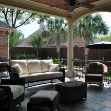 Traditional Patio by Annette Christian Design, LC