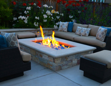 Patio Arbors, Pergolas, Outdoor Fireplace, and Fire Pits