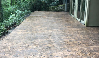 Patio by Cane Creek Concrete in NC