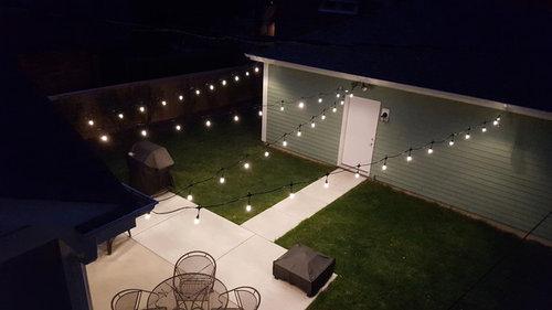 Backyard Cafe String Lights