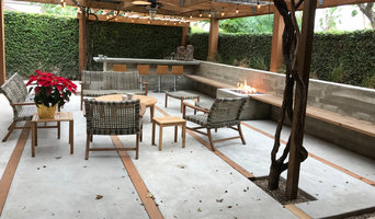Patio Concrete Bar