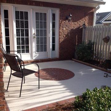 Patio Concrete Resurfacing