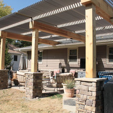 Traditional Patio by Buresh Home Solutions